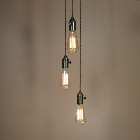Wonderful Best Three Light Bare Bulb Pendants Pertaining To 41 Best Lighting Images On Pinterest (Image 22 of 25)