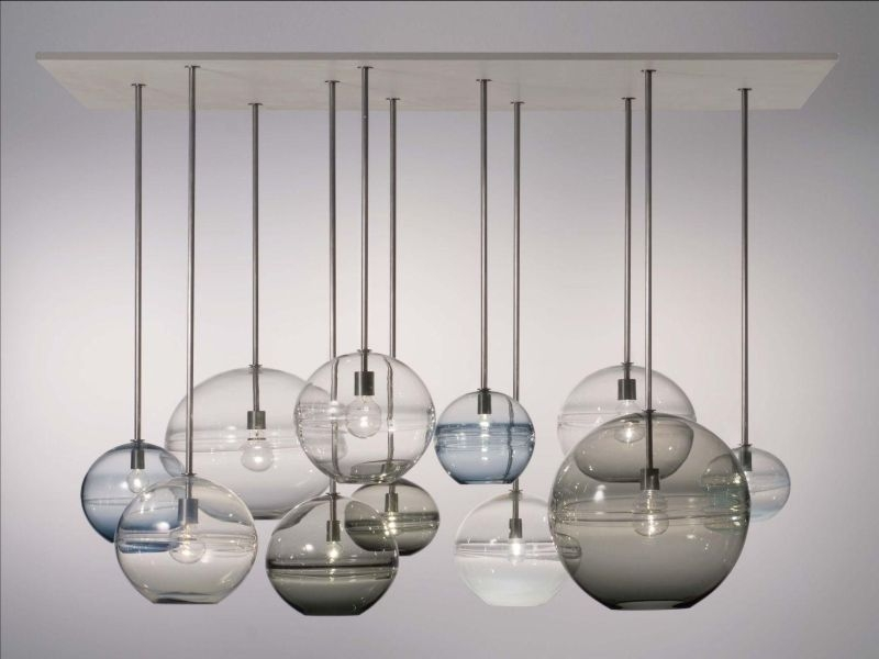Wonderful Brand New Blown Glass Mini Pendant Lights Within Blown Glass Pendant Lights (Image 24 of 25)