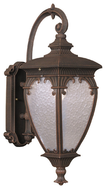Wonderful Brand New Fleur De Lis Light Fixtures Within Fleur De Lis Medium Top Mount Exterior Wall Light Fixture Black (Image 23 of 25)