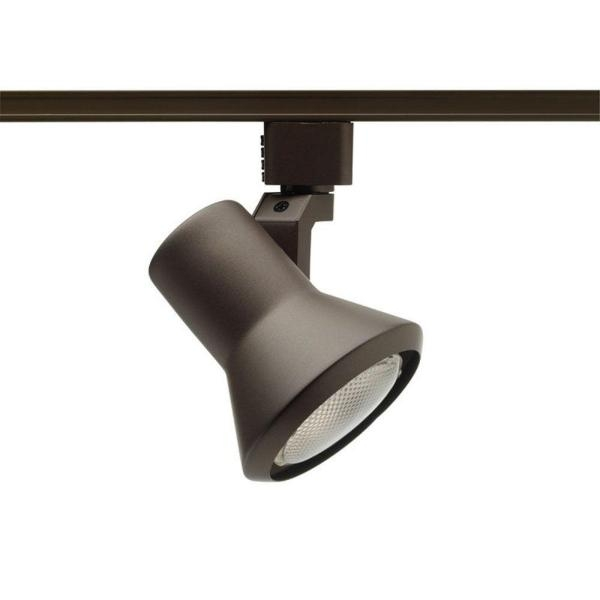 Wonderful Brand New Juno Flexible Track Lighting Throughout Juno 50 Watt Flare Bronze Track Lighting R551 Bz The Home Depot (Photo 4 of 25)