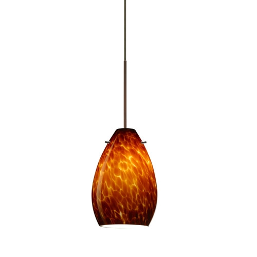 Wonderful Common Brown Glass Pendant Lights Regarding Brown Mini Pendant Lighting Bellacor (Image 25 of 25)