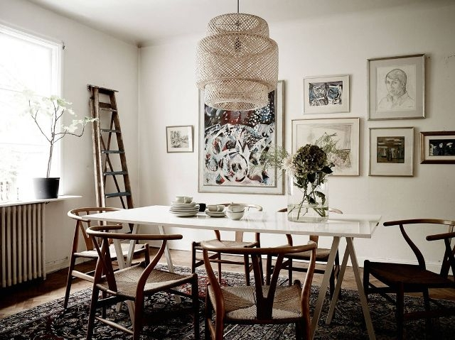 Wonderful Common Ikea Drum Lights Pertaining To 12 Times Ikea Lighting Made The Room Mydomaine (Image 24 of 25)