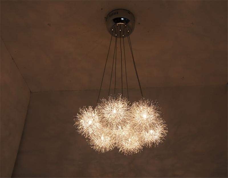 Wonderful Deluxe Wire Ball Light Pendants Regarding Aluminium Wire Ball Pendant Light Corridorbad Room Light Porch (Image 22 of 25)