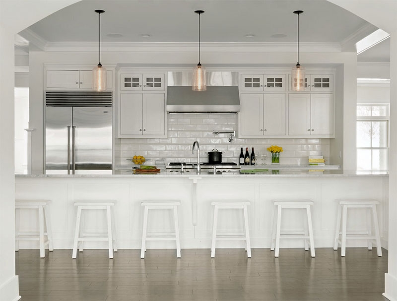 Wonderful Famous Glass Jug Pendants With 20 Shiny Glass Pendant Lights Giving Aesthetic Glow In The Kitchen (Image 23 of 25)