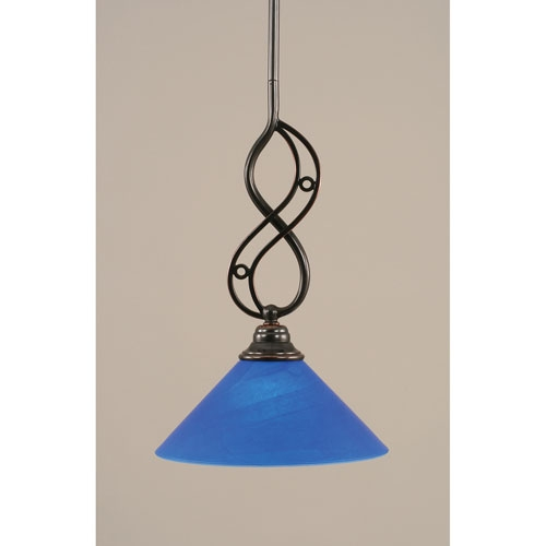 Wonderful Fashionable Cobalt Blue Mini Pendant Lights With Blue Glass Shade Mini Pendant Bellacor (Image 21 of 25)