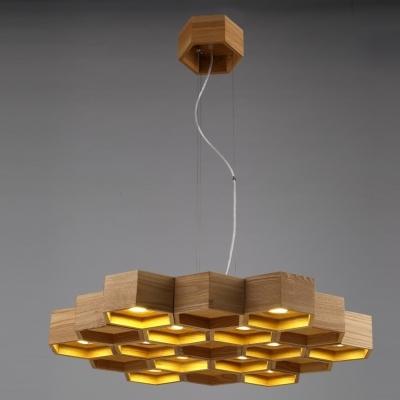 Wonderful Fashionable Honeycomb Pendant Lights Within 295wide 12 Light Large Honeycomb Shaped Designer Pendant Light (Image 24 of 25)