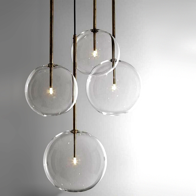 Featured Image of Glass Orb Pendant Lights