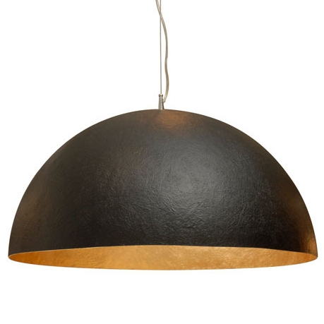 Wonderful Favorite Large Dome Pendant Lights Pertaining To Matte Black Dome Pendant From A Unique Collection Of Antique And (View 19 of 25)