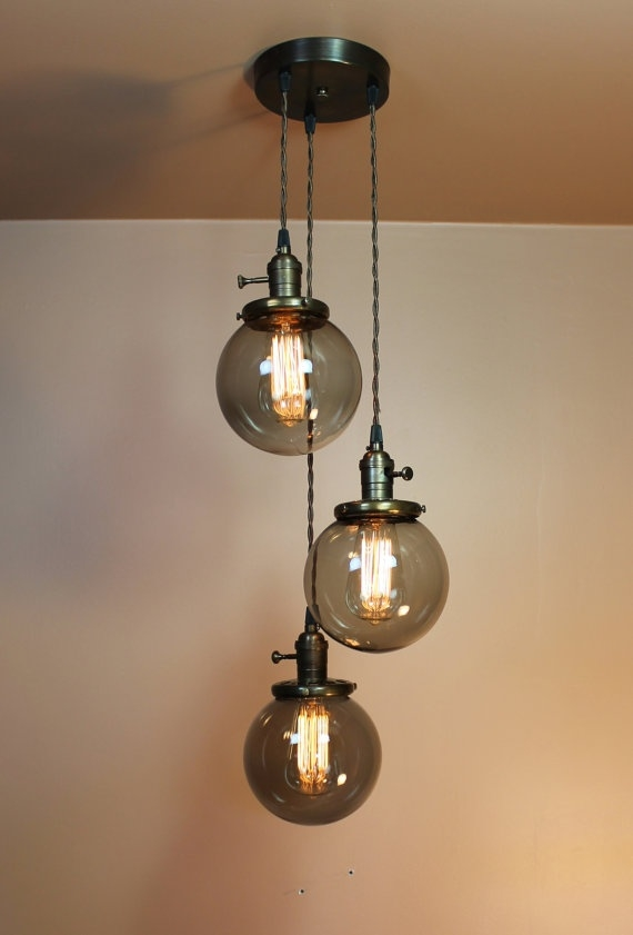 Wonderful Favorite Wire And Glass Pendant Lights Inside Best 20 Edison Light Chandelier Ideas On Pinterest Edison Bulb (Image 23 of 25)
