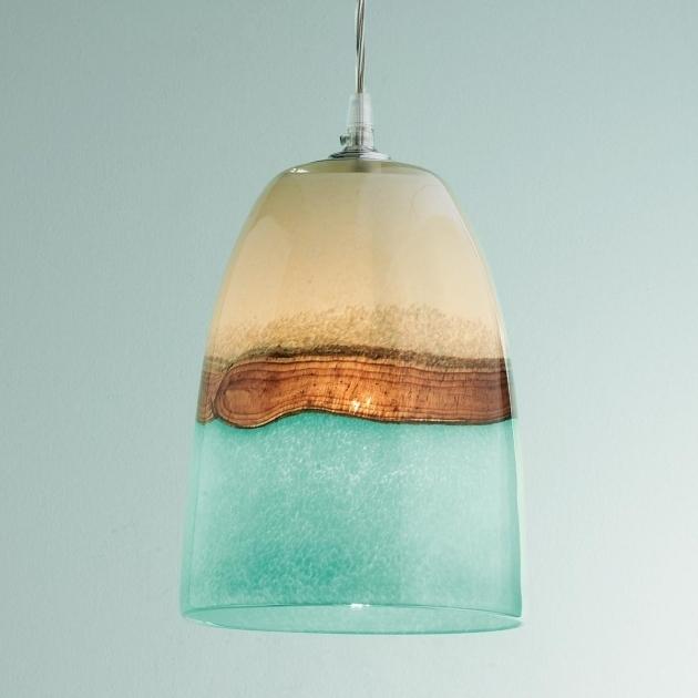 Wonderful Latest Aqua Glass Pendant Lights For Dining Room Inspiring Lighting Glass Pendant Lights Clear For Aqua (View 13 of 25)
