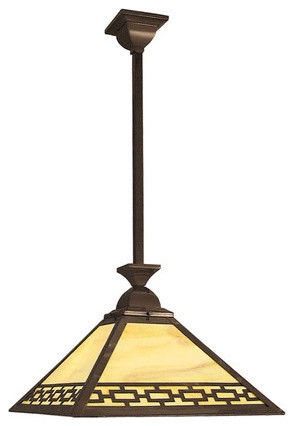 Wonderful Latest Arts And Crafts Pendant Lighting With Mission Arts And Crafts Craftsman Rustic Lighting (View 6 of 25)