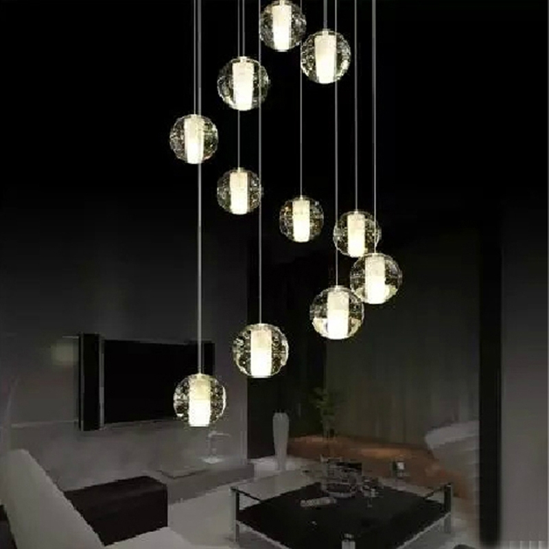 Wonderful Latest Ball Pendant Lighting Regarding Aliexpress Buy Crystal Ball Pendant Light Modern Pendant (Photo 2 of 25)