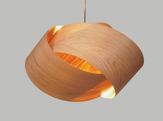 Wonderful New Wood Veneer Light Fixtures Regarding 96 Best Pendant Lighting Images On Pinterest (View 11 of 25)