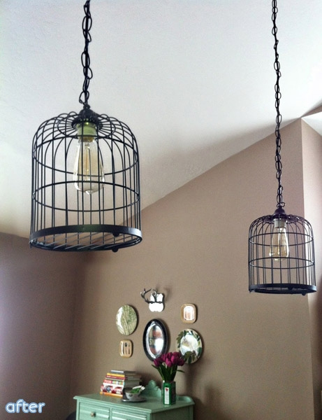 Wonderful Popular Birdcage Pendant Lights In Like A Birdcage On A Wire Better After (Image 23 of 25)