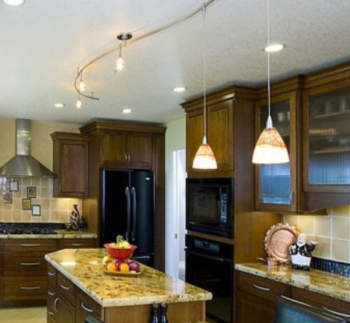 Wonderful Popular Hampton Bay Track Lights Throughout Is Your Kitchen Properly Lit Discover Key Kitchen Lighting Tips (Image 25 of 25)