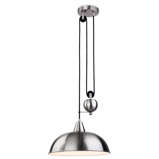Wonderful Preferred Brushed Stainless Steel Pendant Lights With Regard To Stainless Steel Brushed Steel Pendant Lights (View 22 of 25)