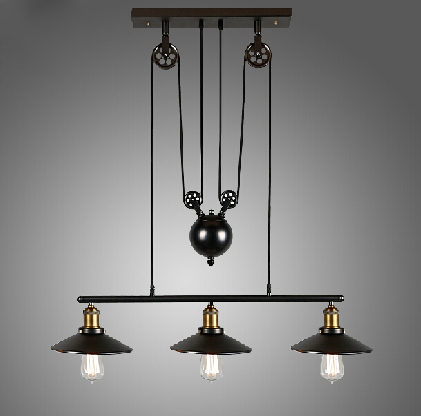 Wonderful Preferred Cheap Industrial Pendant Lights With Regard To Popular Pulley Pendant Light Buy Cheap Pulley Pendant Light Lots (Image 25 of 25)