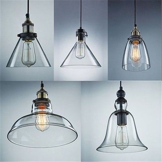 Wonderful Preferred Glass Shades For Pendant Lights Pertaining To Creative Of Replacement Globes For Pendant Lights Clear Glass (Image 24 of 25)