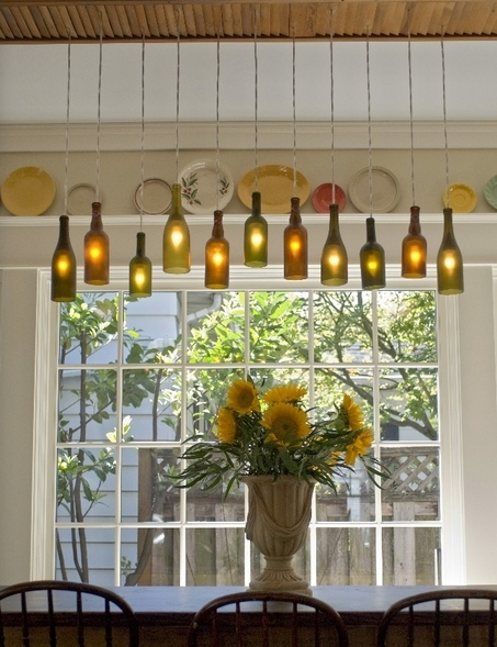 Wonderful Preferred Wine Bottle Pendant Lights For Turn Empty Bottles Into Lights Bottle Lights Bottle And Wine (View 8 of 25)