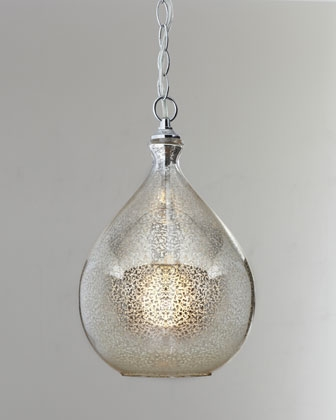 Wonderful Premium Mercury Glass Pendant Lights At Anthropologie Inside Mercury Glass Pendant Light At Horchow This Is A Strong Contender (Image 24 of 25)