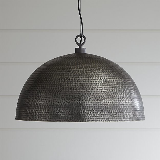 Wonderful Top Crate And Barrel Pendant Lights Intended For Rodan Pendant Light Crate And Barrel (Image 24 of 25)