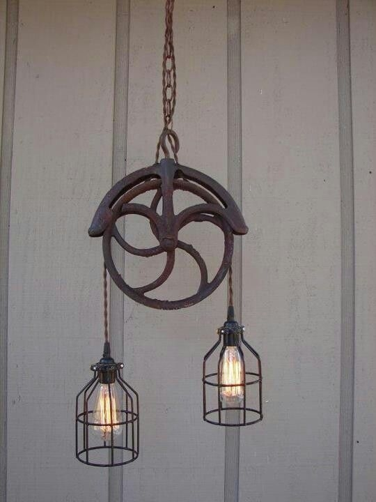 Wonderful Top Pulley Pendant Lights Within Best 25 Pulley Light Ideas On Pinterest Pulley Vintage (Image 25 of 25)