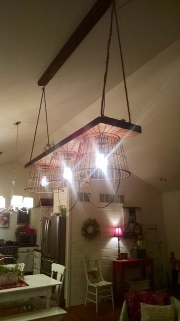 Wonderful Top Reclaimed Pendant Lighting With Industrial Rustic Reclaimed Wood Light Fixture (Image 25 of 25)