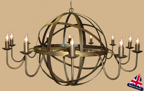 Wonderful Top Wrought Iron Lights Inside Wrought Iron Ceiling Lights Wrought Chandeliers Lighting (View 10 of 25)