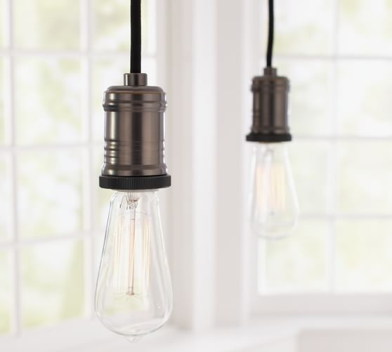 Featured Image of Exposed Bulb Pendant Track Lighting