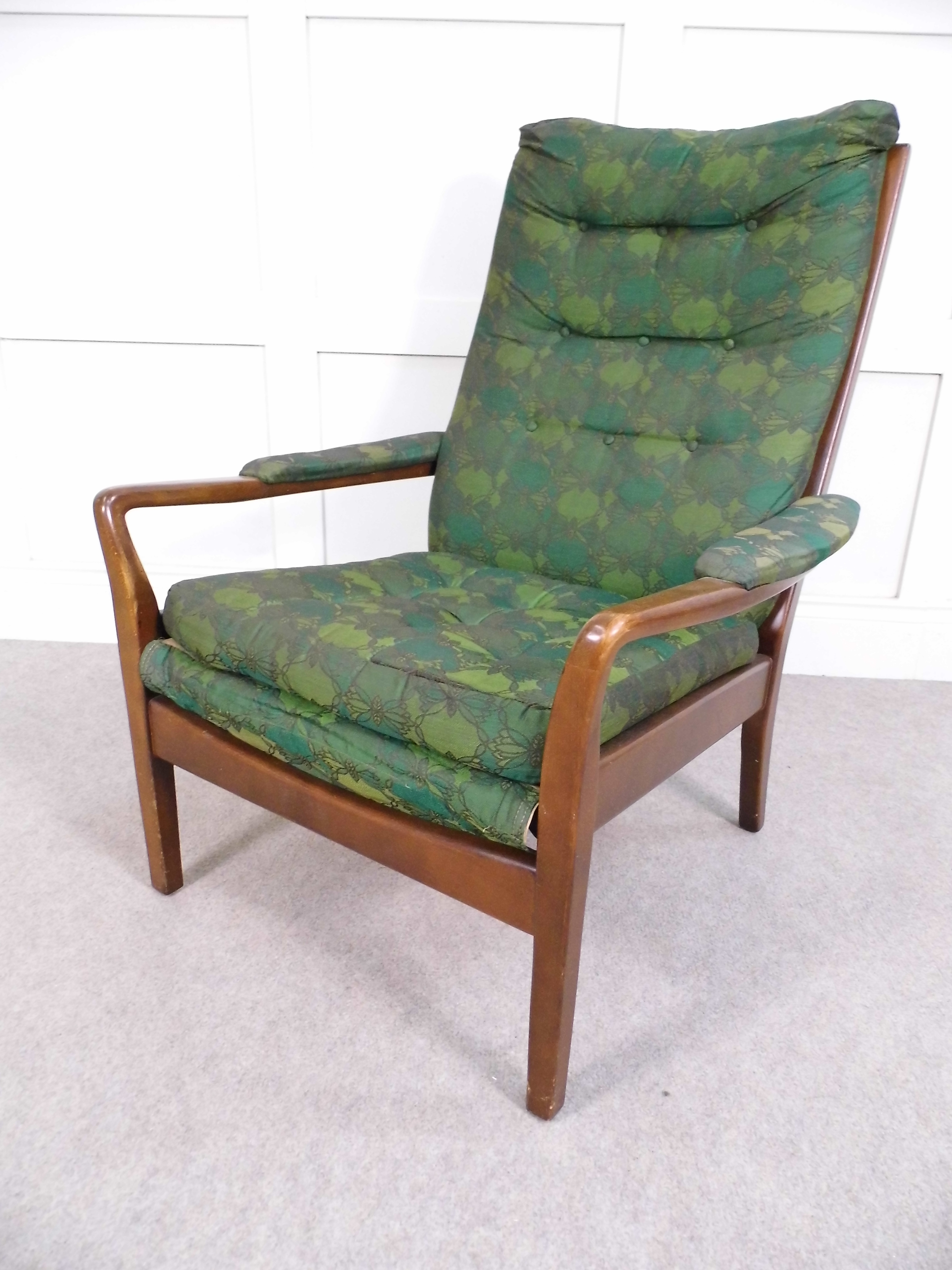 Wonderful Unique Cintique Chair Covers With Regard To Vintage Retro 1959 Cintique C5 Deluxe Group Chair Mid Century (Image 15 of 15)