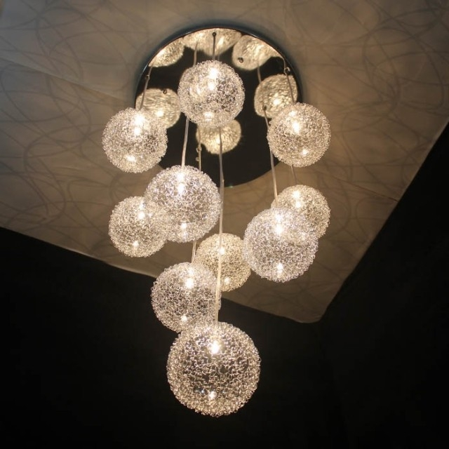 Wonderful Unique Wire And Glass Pendant Lights Inside Online Get Cheap Wire Glass Pendant Light Aliexpress (View 19 of 25)