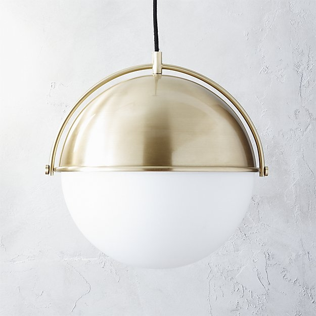 Wonderful Variety Of Cb2 Light Fixtures Within Globe Pendant Light Cb (View 2 of 25)