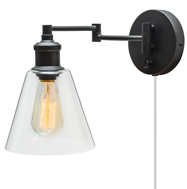 Wonderful Variety Of Hampton Bay Adjustable Pendant Track Lights Regarding Sconces Youll Love Wayfair (Image 24 of 25)