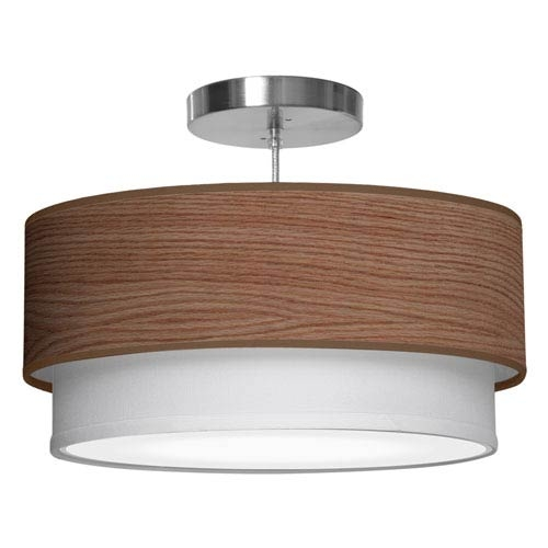 Wonderful Variety Of Wood Veneer Light Fixtures Throughout Wood Veneer Light Fixture Bellacor (View 16 of 25)
