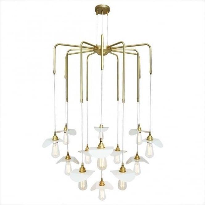 Wonderful Wellknown Bare Bulb Cluster Pendants Throughout Moern Cluster Of Bare Bulb Ceiling Lights Hanging On Gold Framework (Image 24 of 25)