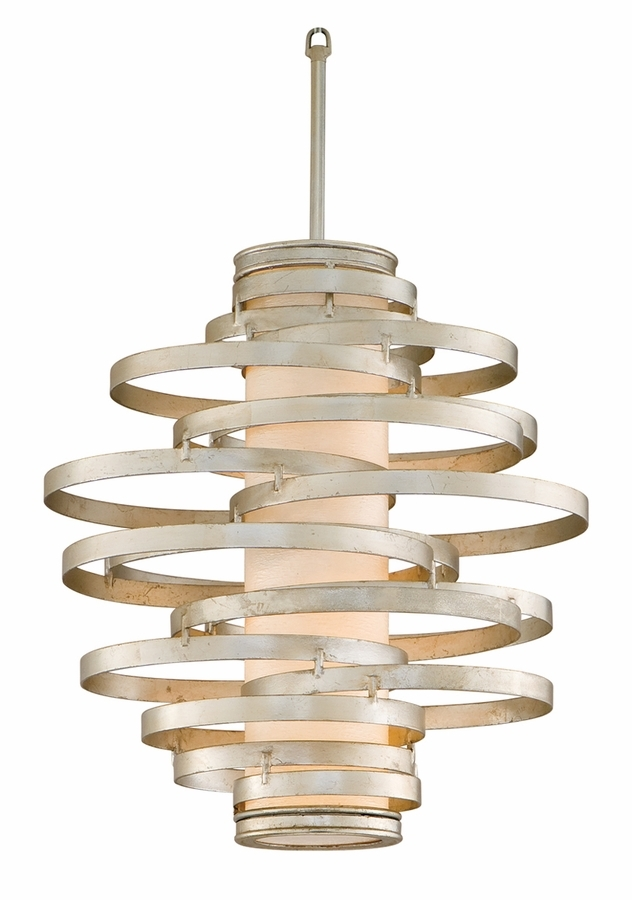 Wonderful Wellknown Corbett Vertigo Medium Pendant Lights With Regard To Lighting 113 42 Vertigo 2 Light Small Pendant Shown In Bronze (View 5 of 25)