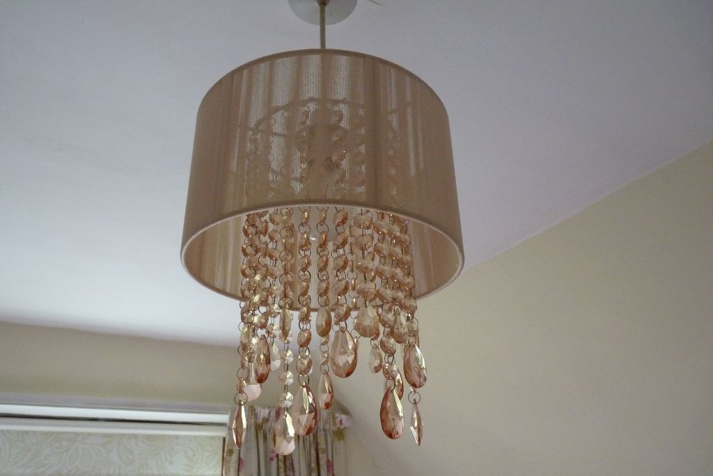 Wonderful Wellknown John Lewis Light Shades Pertaining To Chandelier Crystal John Lewis Salmon Pink Ceiling Light (Image 25 of 25)
