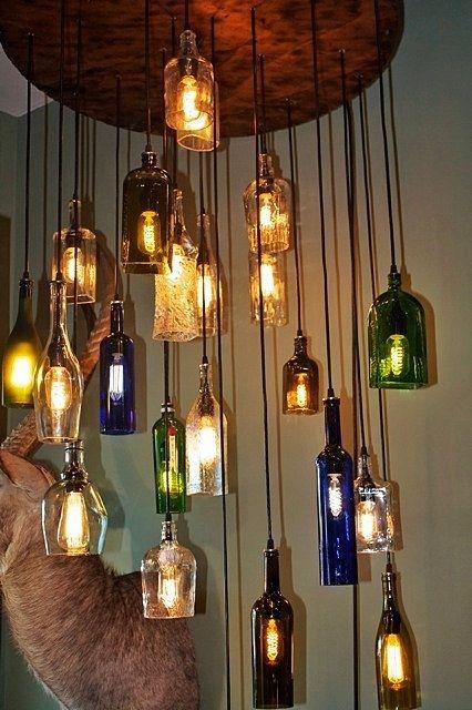Wonderful Well Known Liquor Bottle Pendant Lights With Regard To Best 20 Liquor Bottle Lights Ideas On Pinterest Liquor Bottle (Image 25 of 25)