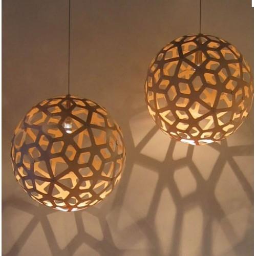 Wonderful Wellliked Coral Replica Pendant Lights Regarding Bamboo Suspension Light David Trubridge (Image 24 of 25)