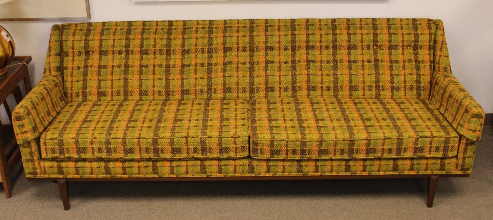 Wonderful Widely Used Cintique Mid Century Armchairs In Mid Century Modern Cintique Sofa From England Dunbar Probber Era (Image 15 of 15)