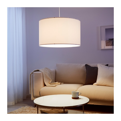 Wonderful Widely Used Ikea Drum Pendants Regarding Nym Lamp Shade 23 Ikea (Image 25 of 25)