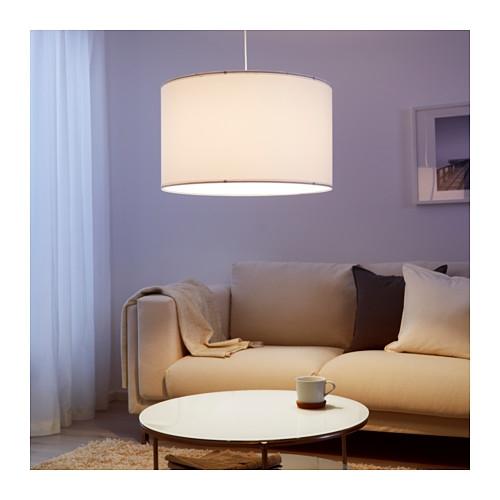 Wonderful Widely Used Ikea Drum Pendants Regarding Nym Lamp Shade 23 Ikea (View 11 of 25)