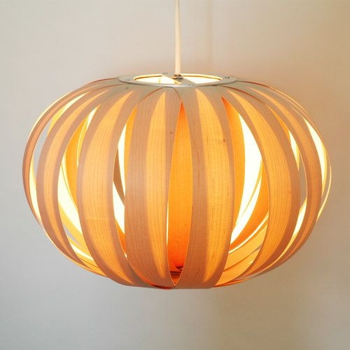 Wonderful Widely Used Wood Veneer Light Fixtures Throughout 23 Best Atelier Cocotte Wood Veneer Lamps Collection Images On (View 13 of 25)