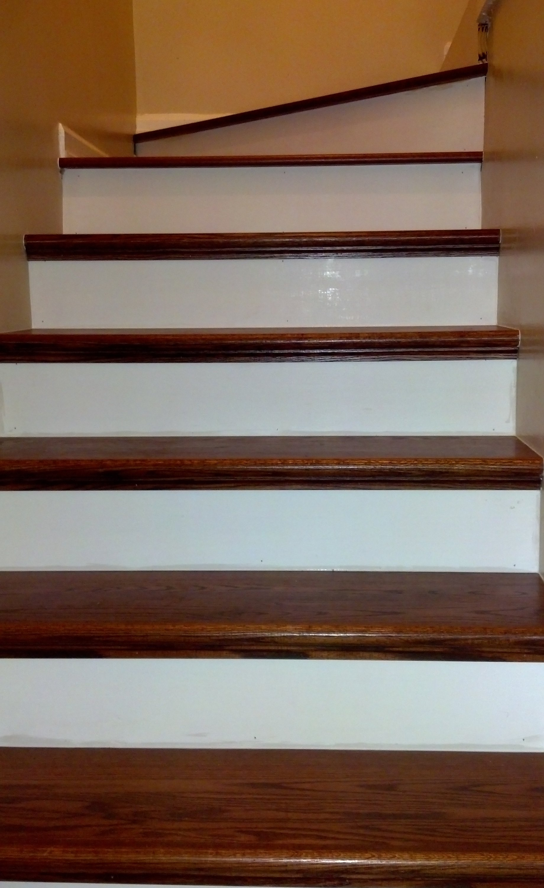 Wood Stair Treads Wood Stair Tread Wood Stair Tread Photo 8 For Wooden Stair Grips (Image 15 of 15)