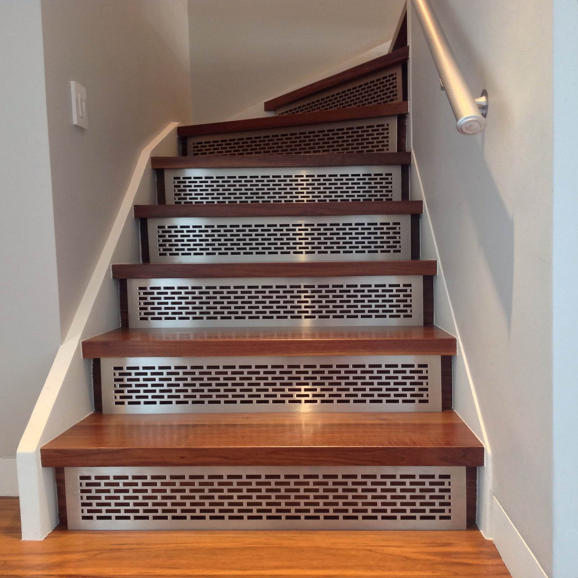 Wood Stairs Ideas With Stair Treads For Wooden Stairs (Image 15 of 15)