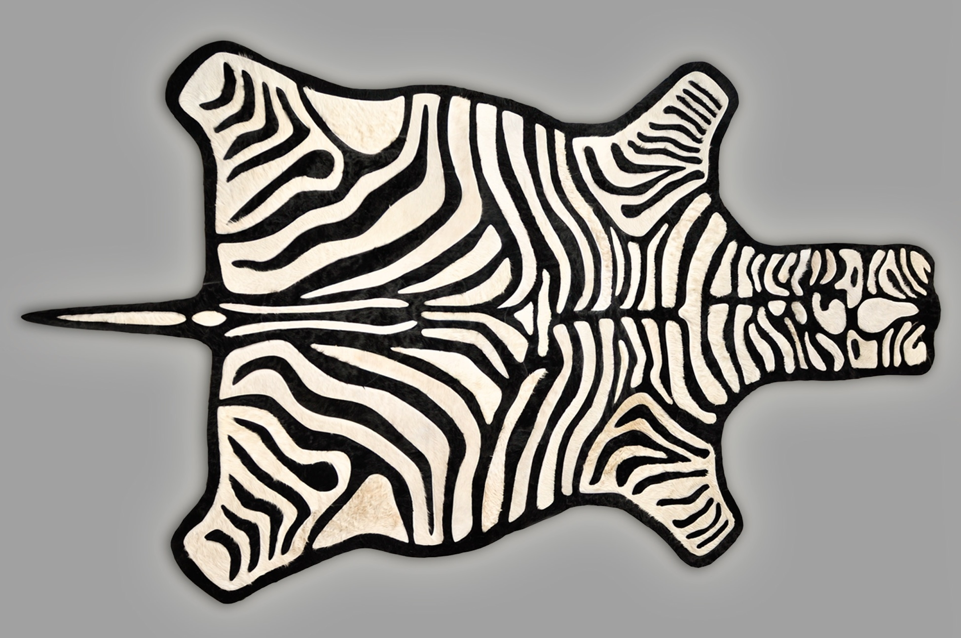 Zebra Rug Real Beautiful Felt Backed Zebra Skin Will Be A In Zebra Skin Rugs (Image 14 of 15)