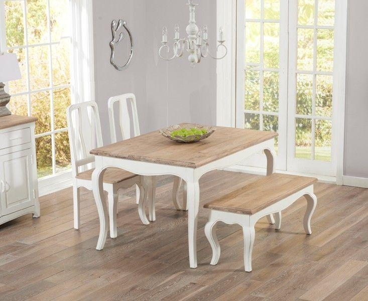10 Best Oak & Cream Dining Sets Images On Pinterest | Dining For Shabby Chic Cream Dining Tables And Chairs (Image 1 of 20)