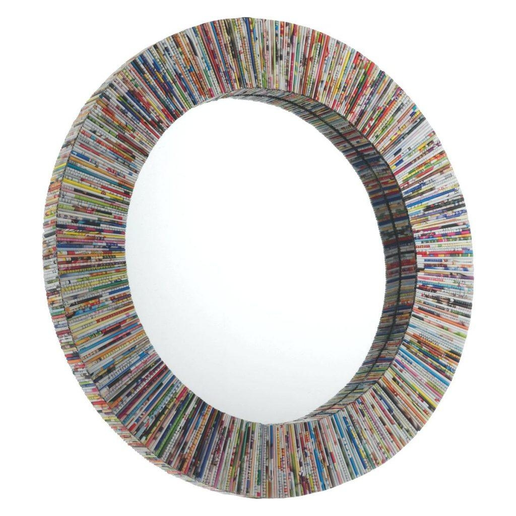 10 Cool Large Wall Mirror Designer Innovative Ideasfunky Round Within Designer Round Mirrors (Image 1 of 20)