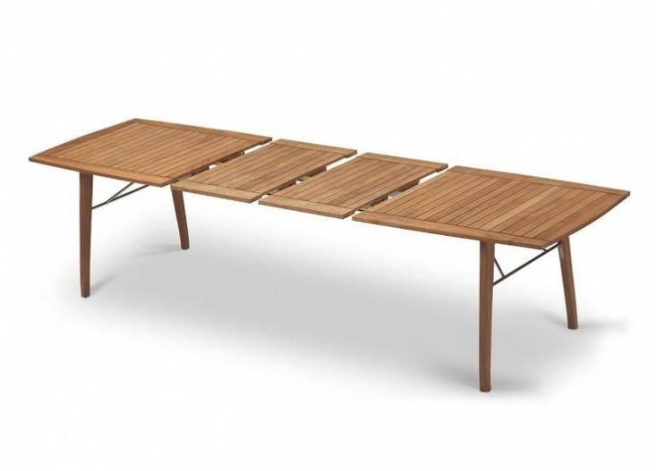 10 Easy Pieces: Picnic Style Dining Tables – Gardenista In Outdoor Extendable Dining Tables (Image 1 of 20)