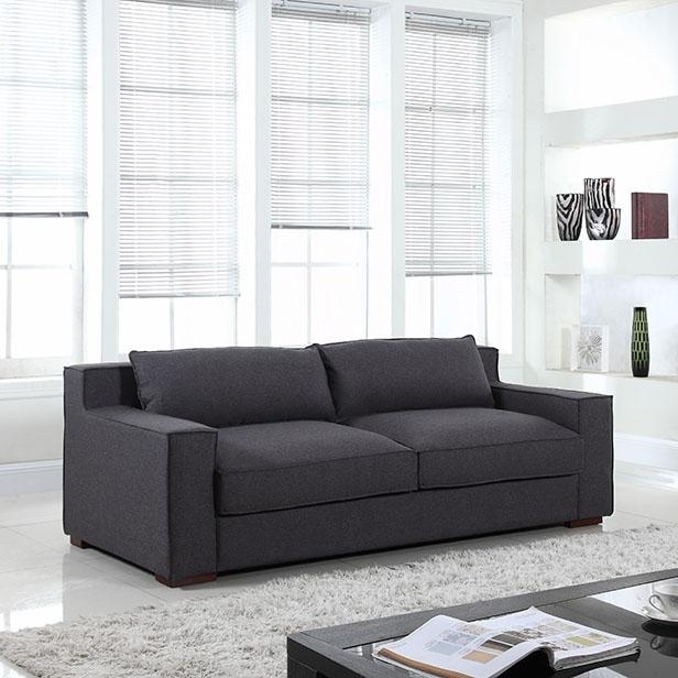 10 Gray Couches Under $1000 | Hgtv's Decorating & Design Blog | Hgtv In Gray Sofas (Image 2 of 20)